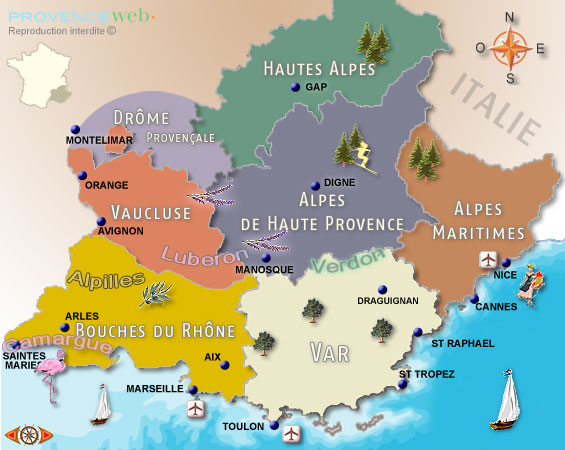 Little bit of geography about the French Riviera | Personal tour guide french riviera